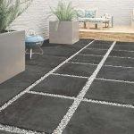 cerajot ceramic dark grey outdoor tiles